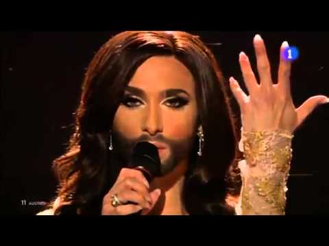 [WINNER ESC2014] Conchita Wurst - Rise like a phoenix - AUSTRIA EUROVISION SONG CONTEST 2014 ...