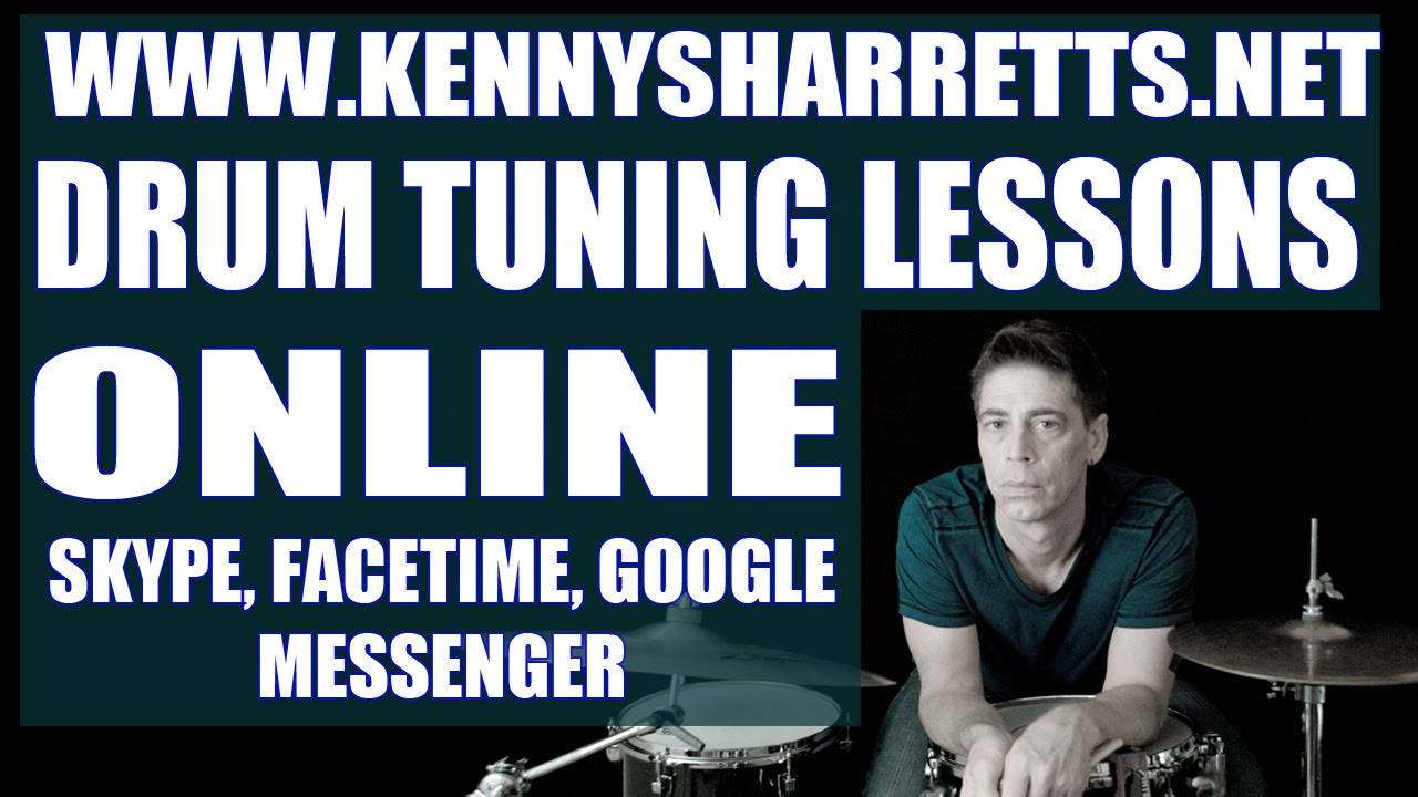 HOW TO TUNE A DRUM: ONLINE DRUM TUNING LESSONS AT KENNYSHARRETTS.NET