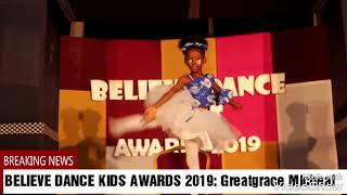 True Gold Ballerina GreatGrace Michael Ballet Dance performance at BELIEVE DANCE KIDS AWARD 2019
