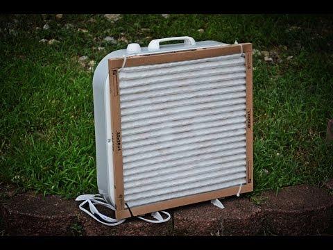 DIY Home Air Purifier – Using a Box Fan