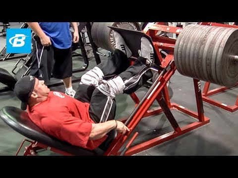 Jay Cutler's High-Volume Olympia Leg Workout | 2010 Road to the Olympia