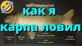 КАК Я КАРПА ЛОВИЛ РУССКАЯ РЫБАЛКА 4 Russian Fishing 4