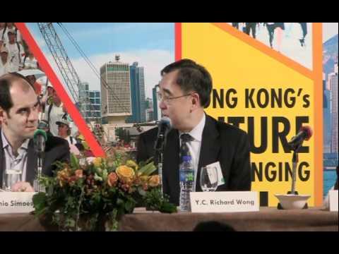 Hong Kong's Future in a Changing Asia - Y.C. Richard Wong presentation