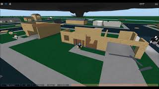 ROBLOX Storm Chasers - Tornado Strikes Winfall + DOW Chasing! (44)