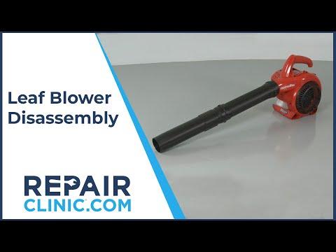 Homelite Leaf Blower Disassembly UT09526