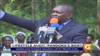 Leaders back President Kenyatta`s call for lifestyle audits #CitizenExtra