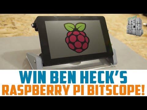 Win Ben Heck's Raspberry Pi Bitscope Mod! - YouTube