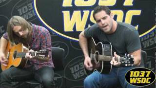 "103.7 WSOC: Blake Wise sings ""Could You Love Me Again"""