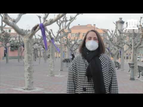 Acto virtual del Ayuntamiento de Cintruénigo con motivo del 25-N