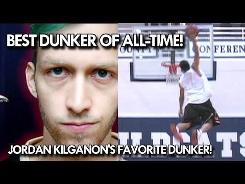 """Jordan Kilganon's FAVORITE DUNKER! 5'9"""" T-Dub the BEST DUNKER of ALL-TIME! 50 + INCH VERTICAL!"""