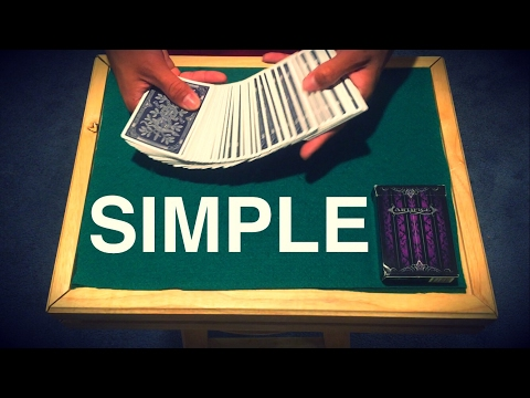 Blow Minds With The Simplest Card Trick Ever