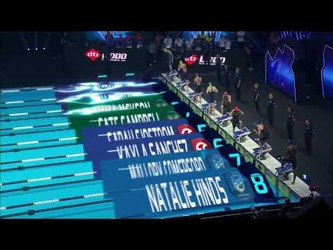 Emma McKeon Women's 100m Freestyle Final ISL Swimming League