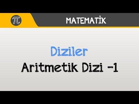 Diziler - Aritmetik Dizi -1