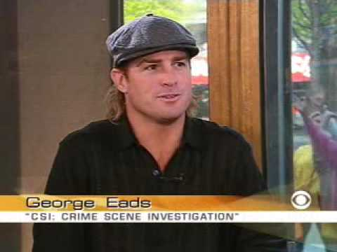 George Eads On The Early Show 2004