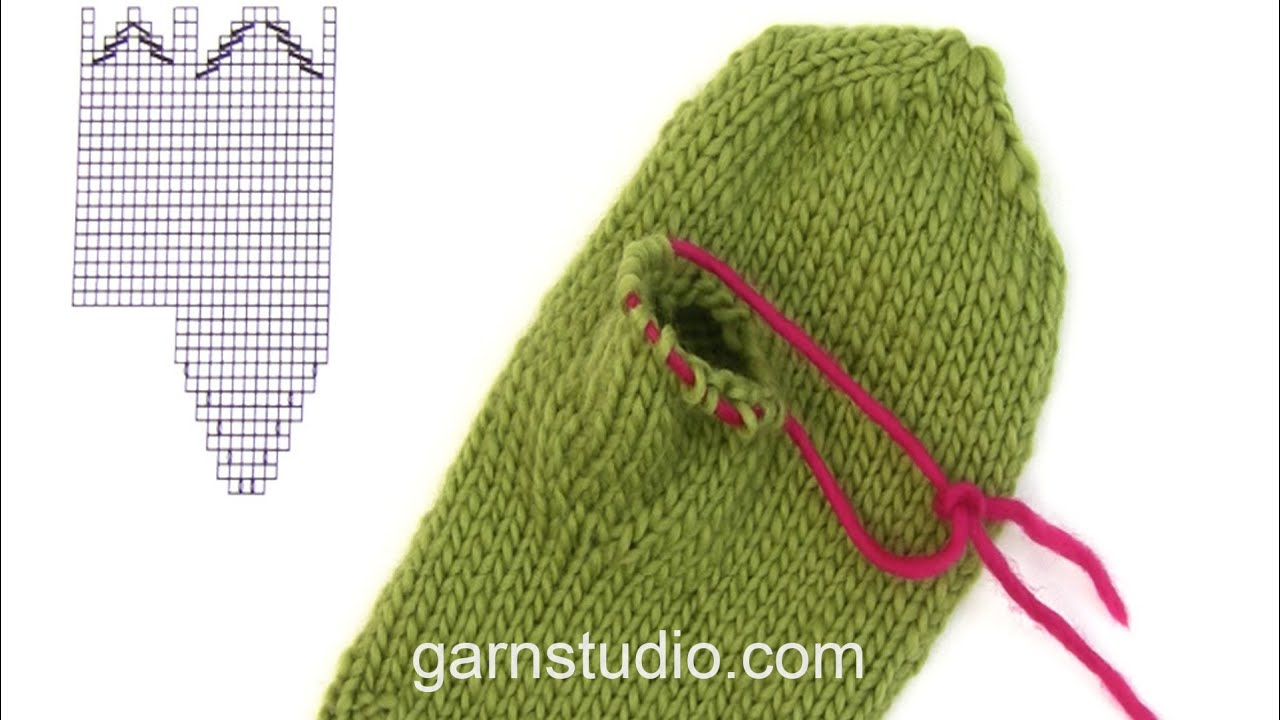 Knitting Increases For Thumb Gusset : How to knit a thumb gusset on mitten youtube