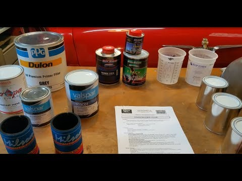 Painting the Motorcycle Fuel tank - Preparation, Products and Suppliers