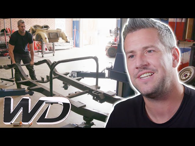Ant Starts Building His Dream Car From Scratch | Ant Anstead Master Mechanic