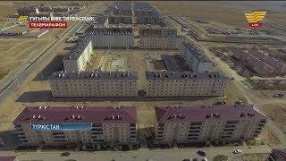 Түрленген Түркістан: Әкімшілік-іскерлік орталығы
