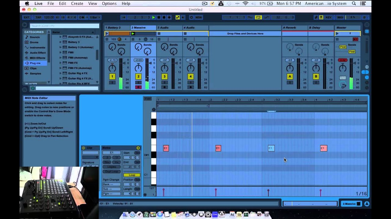 how to use native instruments effects ableton