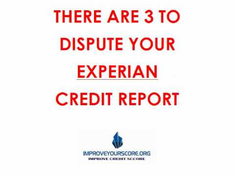 how to get your free credit report from experian