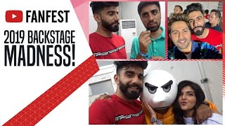 YTFF 2019 BACKSTAGE MADNESS Ft Lilly Singh Varun Dhawan MO Vlogs Angry Prash Be Younick More