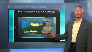 DWD - WarnWetter-App - Infos von Hans-Joachim Koppert (Vorstand Wettervorhersage)