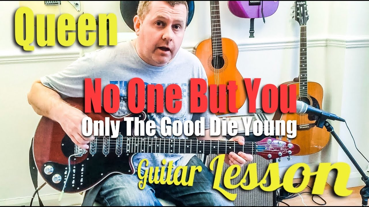 No one but you only the good die young queen guitar tutorial no one but you only the good die young queen guitar tutorial guitar tab hexwebz Image collections
