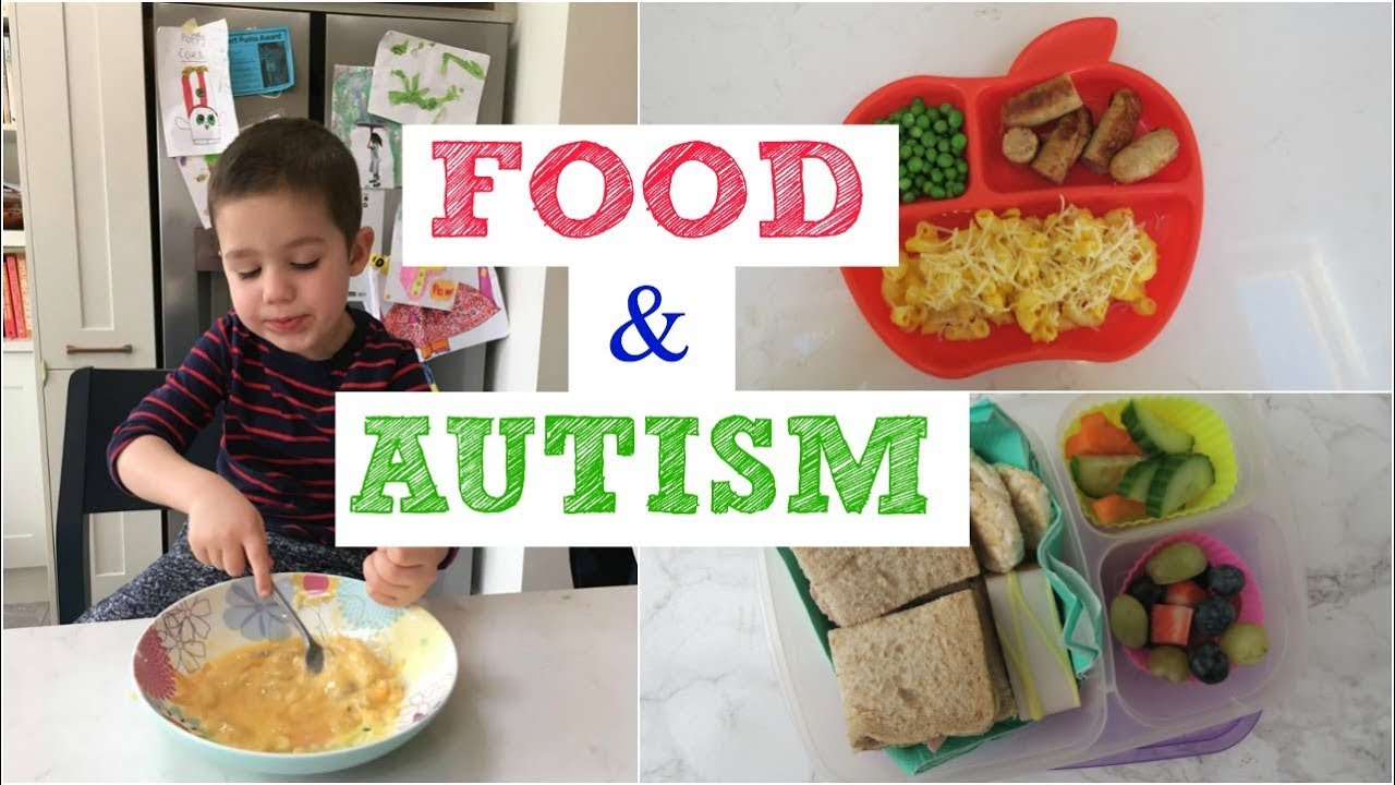 I Gave My Child Autism >> What My Autistic Son Eats In A Day Youtube