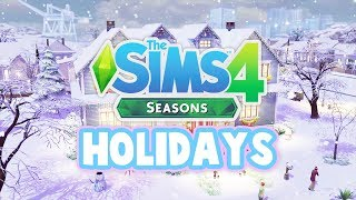 what holidays will you create?☔🍂🌞⛄ the sims 4 seasons mothers day fathers day?