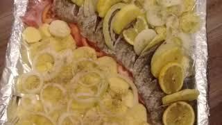 Приготовление Рыбы в Духовке рецепт