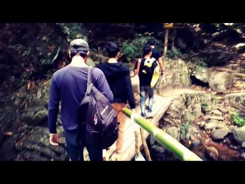 Traveling Palau waterfall. XD