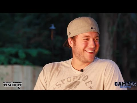 Matthew Stafford discusses HS Football in Texas, UGA, the NFL and meeting his wife