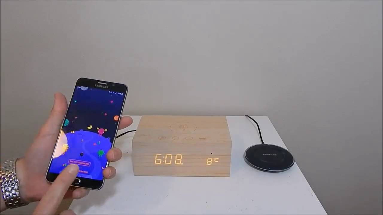 The best wireless charger I have used! Also a great alarm clock & bluetooth  speaker