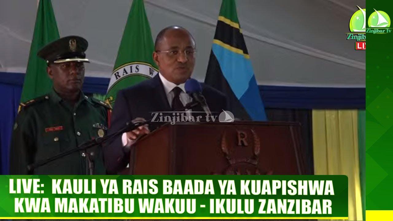 #LIVE: KAULI YA RAIS BAADA YA KUAPISHWA KWA MAKATIBU WAKUU ...