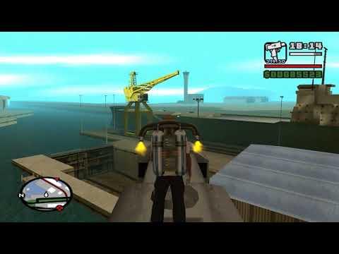 GTA San Andreas – Létající vlak