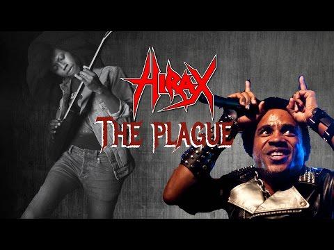 HIRAX - The Plague - Full Cover ~ Mutant Disease