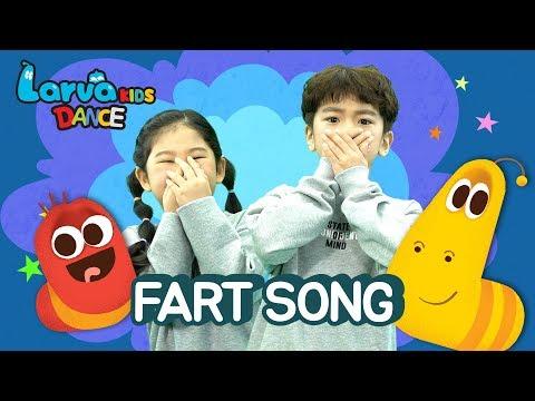 FART SONG | LARVA KIDS | DANCE FOR KIDS | BEST NURSERY RHYME | JUST DANCE