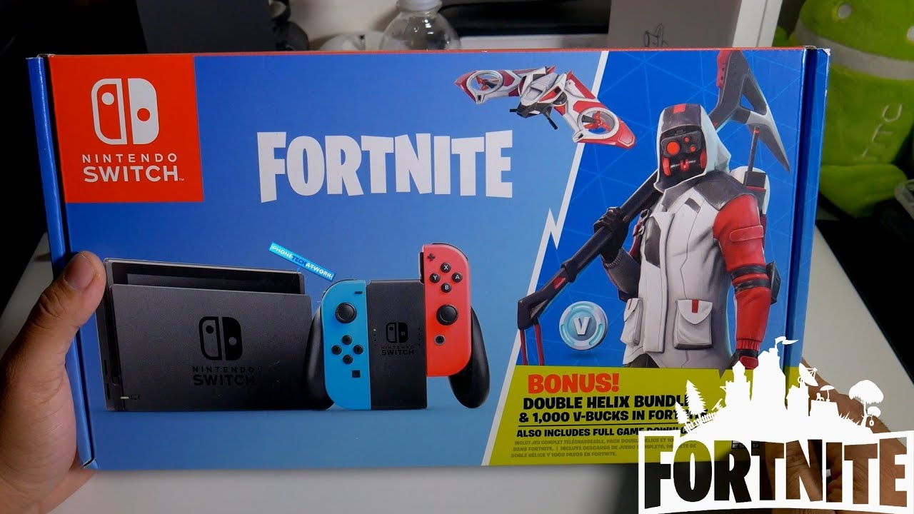 b885d86758958 Fortnite Nintendo Switch Unboxing! I m a Noob lol - YouTube