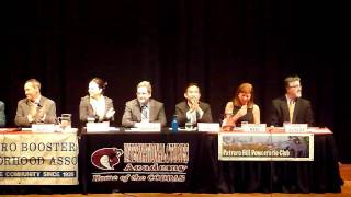 1 of 11 SF Mayoral Debate Potrero Hill