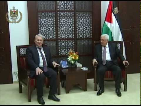 President Abbas Receives the Head of the Representative Office of the Czech Republic in Palestine