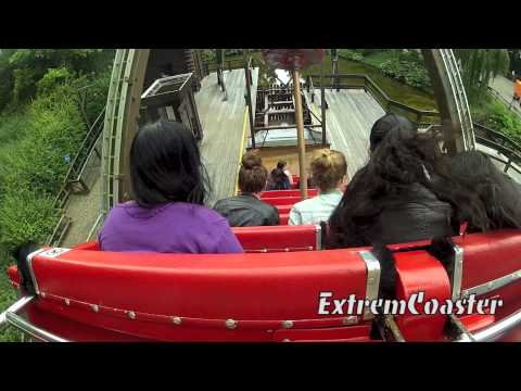 Hudson Bay - On Ride - POV - Walibi Holland 2013 - (HD)