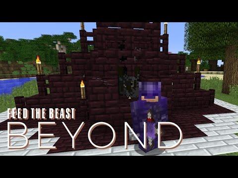 FTB Beyond w/ xB - BLAZE FARM [E15] (Modded Minecraft)