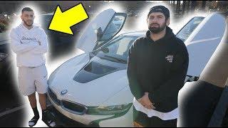 BRAWADIS GAVE ME MY DREAM CAR!!! *BMW i8*