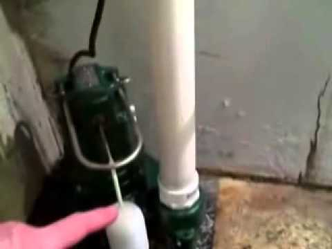 How To Install A Sewage Pump   Ejector Pump   YouTube
