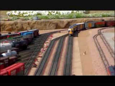 "Layout on PBS show  ""Tracks Ahead"""