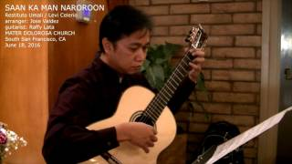 Saan Ka Man Naroroon (Live) - R. Umali (arr. Jose Valdez) Solo Classical Guitar