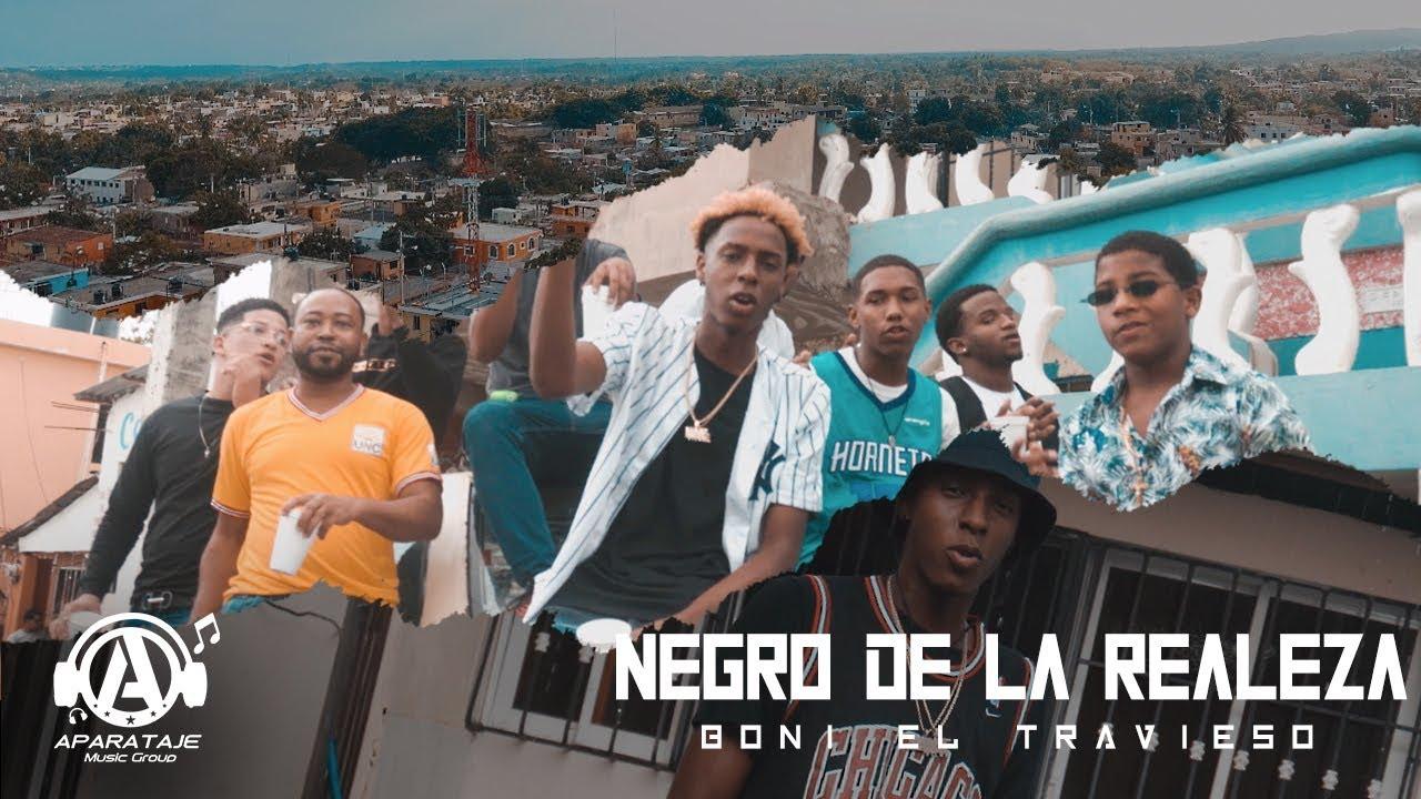 Boni el travieso - Negro de la realeza (Video Oficial)