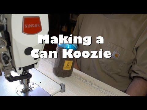 Making a Can Koozie