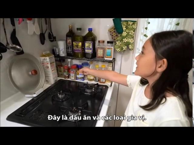 [Bất động sản Đại Việt] Nhà bếp nhỏ nhưng đủ tiện nghi thông minh của người Nhật