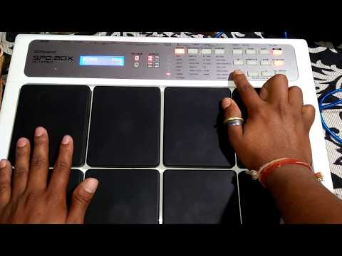 Spd20x Garba Patch Etit Octapad Cover ||octapad Drum Cover|| Ashish Barghati